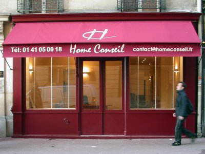 HOME CONSEIL - IMMOBILIER - Store - Levallois