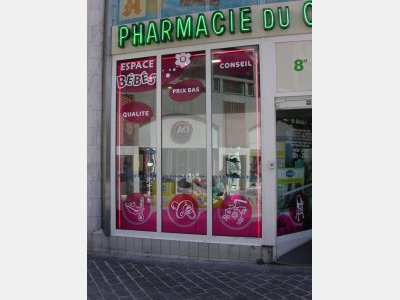 PHARMACIE DU CENTRE - Signalétique